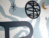 Cafe Mundo Mural