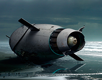 "Supercavitating submarine ""Bullet"""