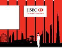 HSBC Banner Design