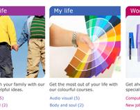 E-life community website