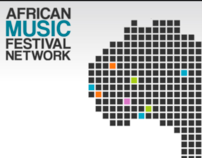 African Music Festival Network - website