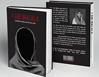 I AM MALALA - Bookcover & Newspaper