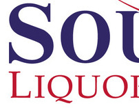 "Logo for "" South Liquor Mart "", USA"