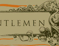 Gentlemen cd packaging
