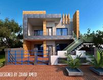 200sqm house