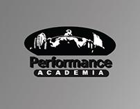 Desenvolvimento Logo e Flyer - Performance Academia