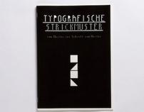 TYPOGRAFISCHE STRICKMUSTER