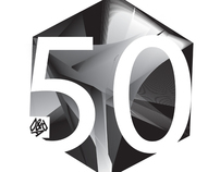 D&AD's 50th anniversary logo