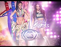 Bayley vs Sasha Banks Wallpaper