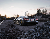 Corvette C8 Widebody   CGI