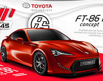 Toyota FT86 - Stand design