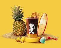 Fruity Cold Brew Coffee | Visual Identity Design