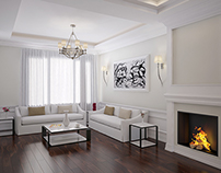 Photo Realistic Interior Visualization of a Residence
