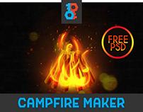 Free Camp Fire Maker