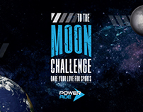 To the moon challenge - Powerade
