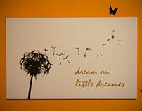 Dream on Little Dreamer Artwork