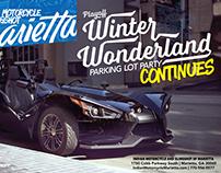 Playoff Winter Wonderland