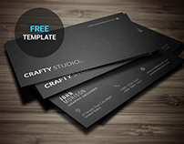 Minimal Business Card Template | Freebie