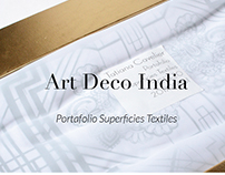 Art Deco India - Superficies Textiles