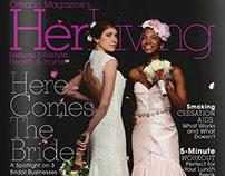 Her Living • Magazine Cover Design
