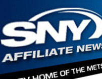 Comcast Sports NY Affiliate Email Newsletter