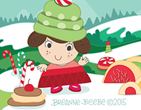 Holiday Card, Illustration & Design