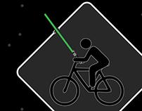 MSU Bike Light Safety Ad Campaign