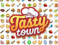 UI/UX on Tasty Town restaurant game