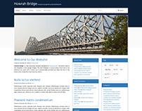Howrah Bridge Bootstrap Template