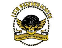 13th Scouts Wexford Logo Design