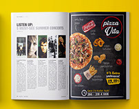 Pizza Restaurant @ Magazine