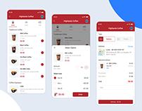 Coffee UI/UX App Design
