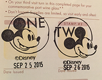 Epcot Annual Pass Special Addition Food & Wine Stamps