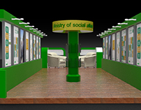 Ministry of Social affair Exhibition