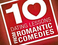 Dating Lessons from Romantic Comedies Key Art Posters