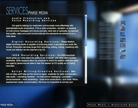 Website Design - Phase Media