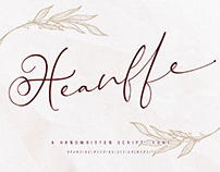 FREE | Heanffe Elegant Script Font