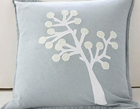 Appliqued Holiday Pillows for Better Homes & Gardens