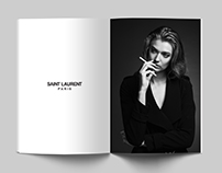 Saint Laurent Mock Ad