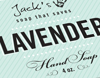 Jack's Soap packaging concept