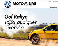 Web Site Moto Minas VW / 2013