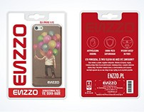 Enzzo blister packaging design