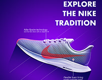 nike shoe advertisment