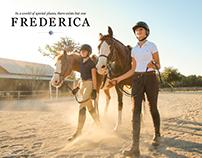 Frederica 2016 Print Campaign