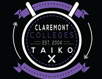 Claremont Colleges Taiko Logo Design