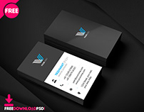 Graphic Designer Free Business Card PSD Template.