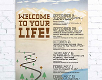 Welcome To Your Life Poster Series