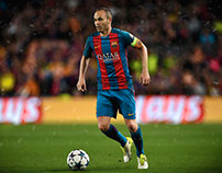 edit and retouch iniesta