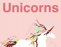 Unicorns forever poster