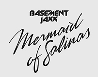 Mermaid of Salinas Lettering